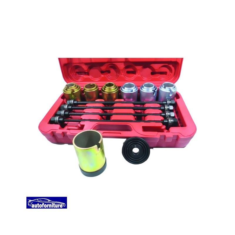 Kit estrazione/inserimento silent block ponte posteriore, paraoli albero motore e cuscinetti ruota
