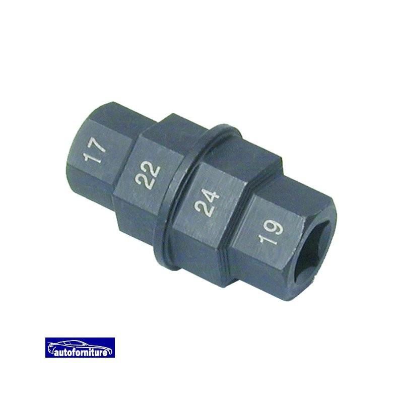 Nero di bloccaggio Ruota Bulloni Dadi 12x1.5 per Vauxhall Corsa perno e 4 14-16