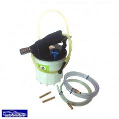 Strumento estrazione liquido freni e riempimento filtri gasolio