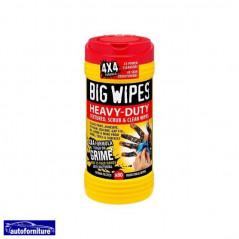 Salviette sgrassanti abrasive detergenti
