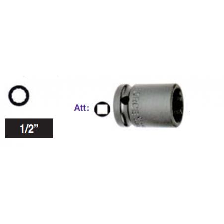 """Chiave a bussola poligonale Impact attacco 1/2"""" mm 8 corta"""