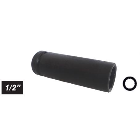 "Chiave a bussola poligonale Impact attacco 1/2"" mm 24 lunga"