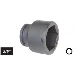 "Chiave a bussola esagonale Impact attacco 3/4"" mm 35 corta"