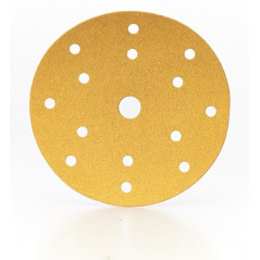Dischi abrasivi carta velcrati diametro 150 mm a 15 fori P360 - linea SCS Gold Prodotto professionale