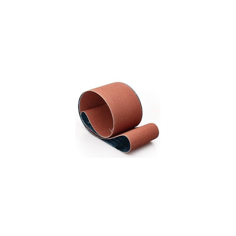 Nastri abrasivo su tela 10x330mm con minerale ceramico P80- linea TYSA Per levigatrice a nastro