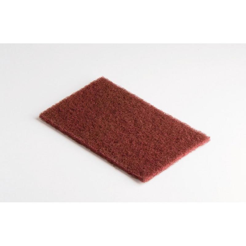 Panno/foglio abrasivo in fogli 115x280mm AVF - rosso con da 10 pezzi