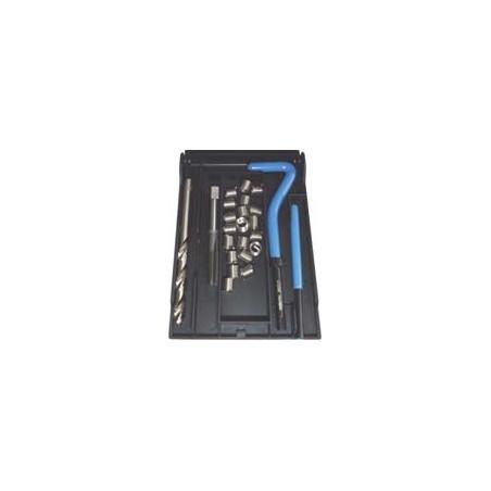 Kit di riparazione filetti helicoil monodimensionale Ø6x1