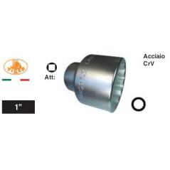 """Chiave a bussola poligonale Impact quadro 1"""" Mozzi Daily 65 mm."""