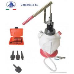 Attrezzo per l'inserimento di olio nei cambi manuali, automatici e nei differenziali