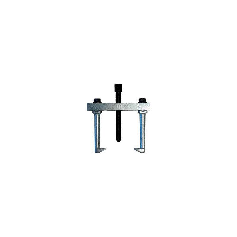 Estrattore universale a due zampe a punta in acciaio forgiato altezza (A) mm.100 apertura massima (B) mm.140